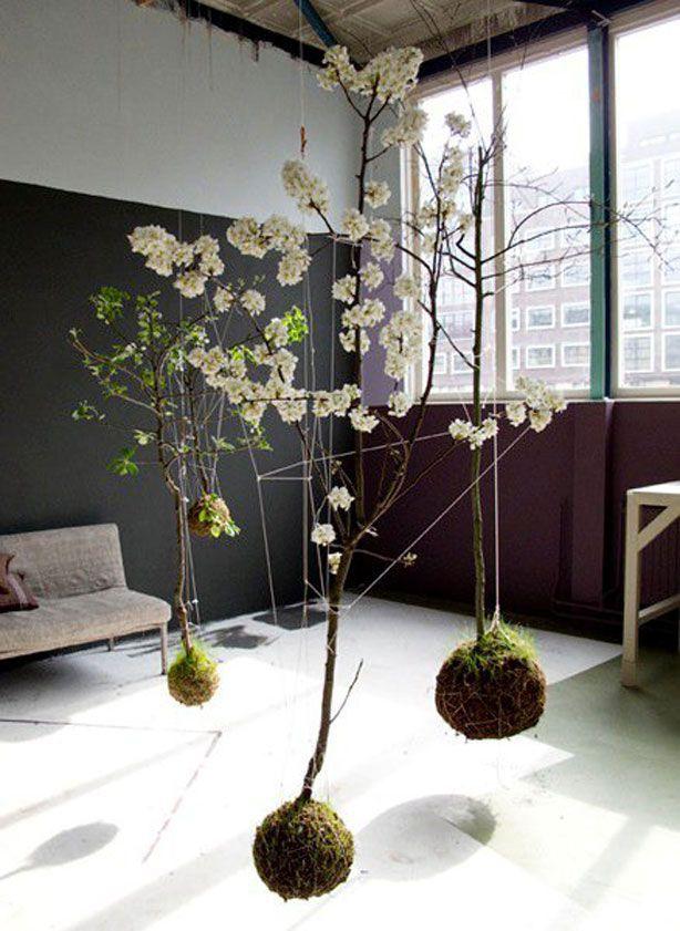 nowoczesne instalacje kwiatowe