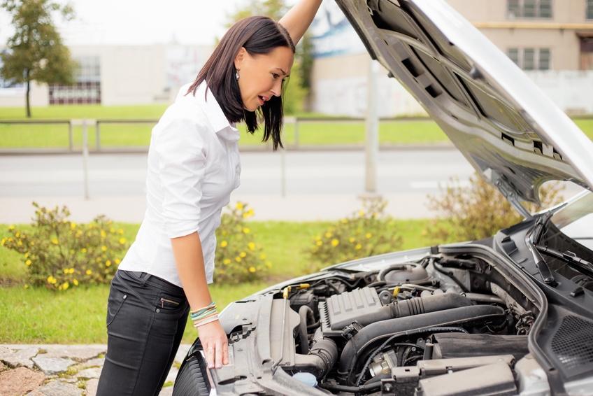 uszkodzenia silnika