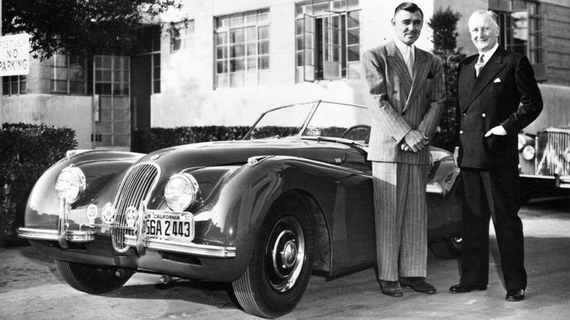 Clark Gable w Jaguarze