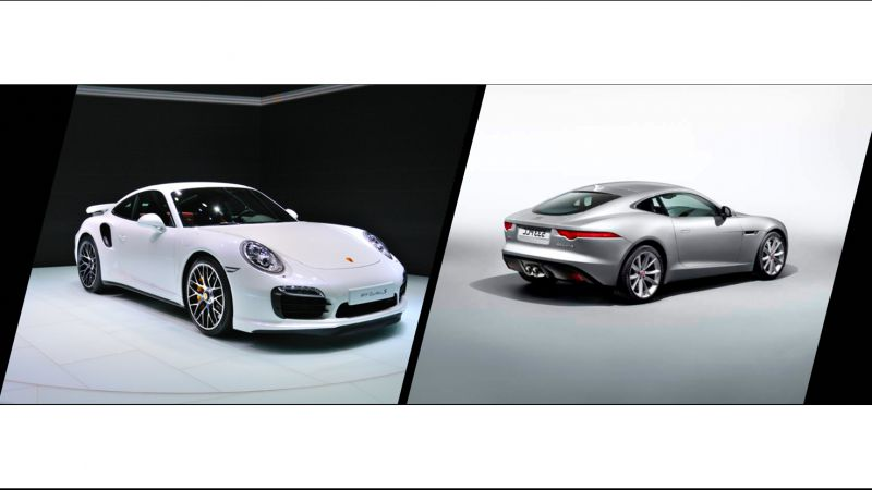 Coupé R vs Porsche 911